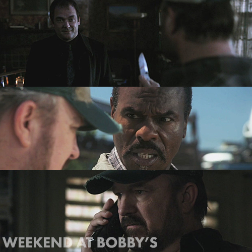 Supernatural 6x04 - Weekend at Bobby's