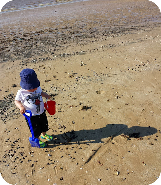 toddler on beach, debenhams toddler clothes
