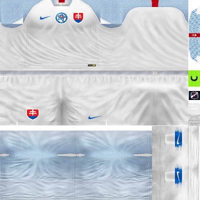 PES 6 Kits Slovakia National Team Season 2018/2019 by JeremySvr
