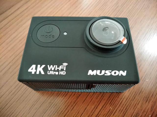アクションカメラ MUSON MC2の写真