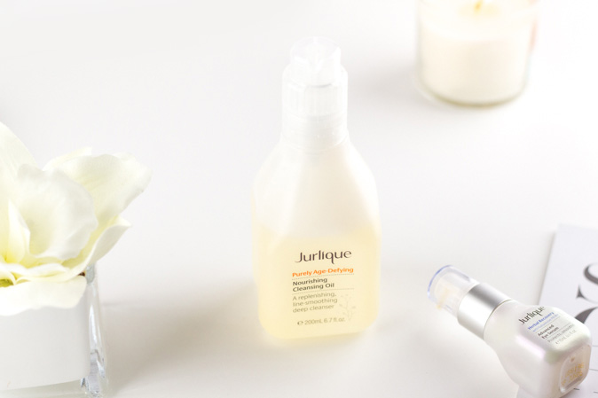 jurlique purely age defying nourishing cleansing oil review