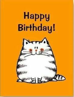 happy birthday cat wallpaper
