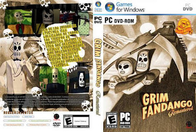 Jogo Grim Fandango Remastered PC DVD Capa