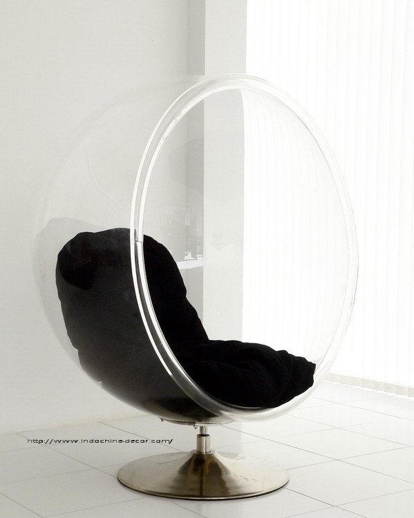 Rose Wood Furniture Bubble Chairs