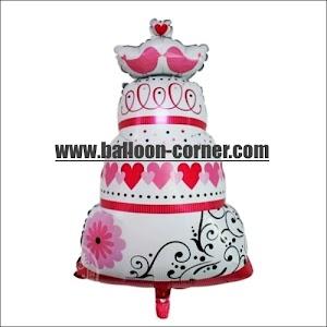 Balon Foil WEDDING CAKE