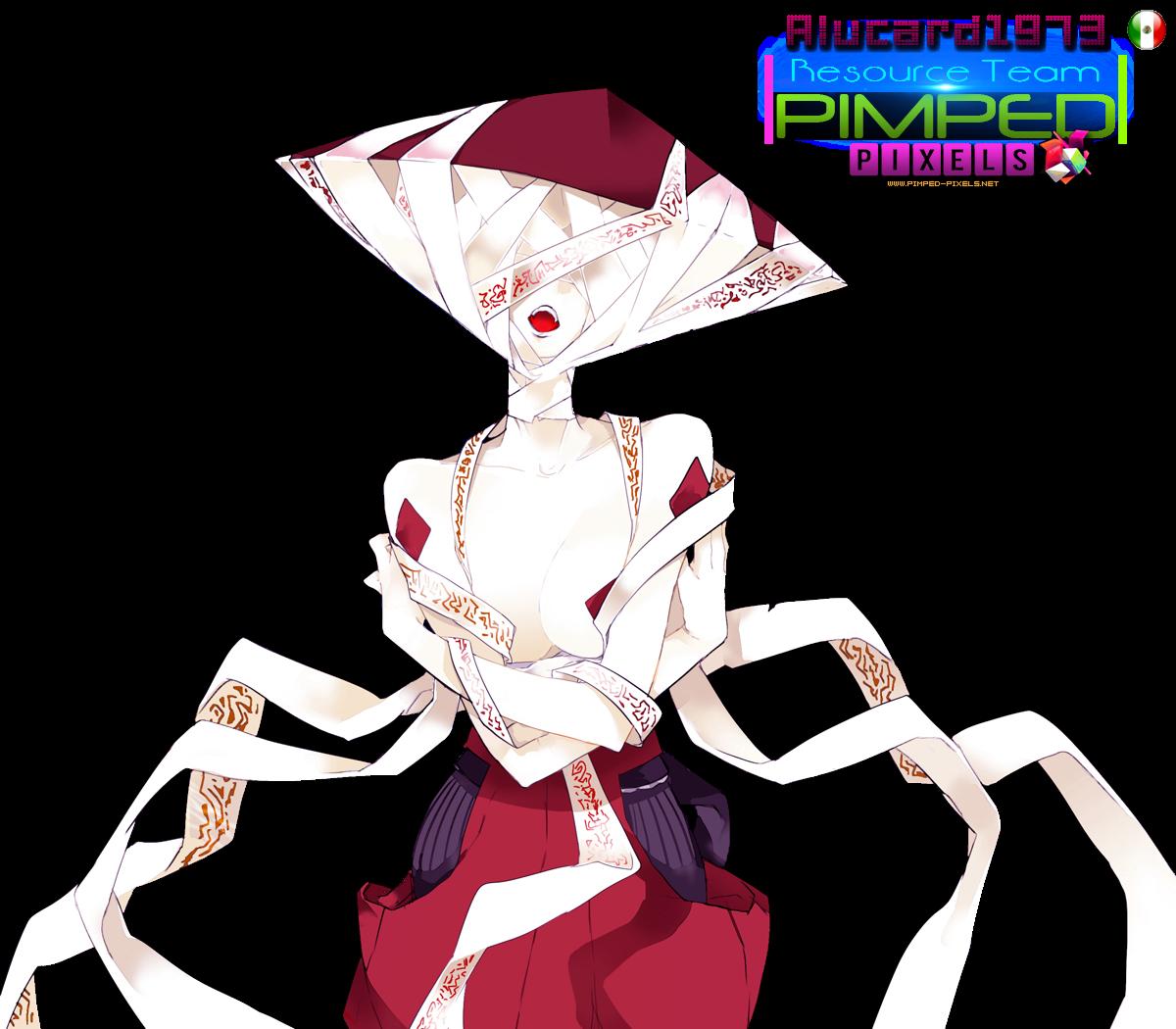 PNG 【PFSR】【智堂】顔無【ルザリア】 01