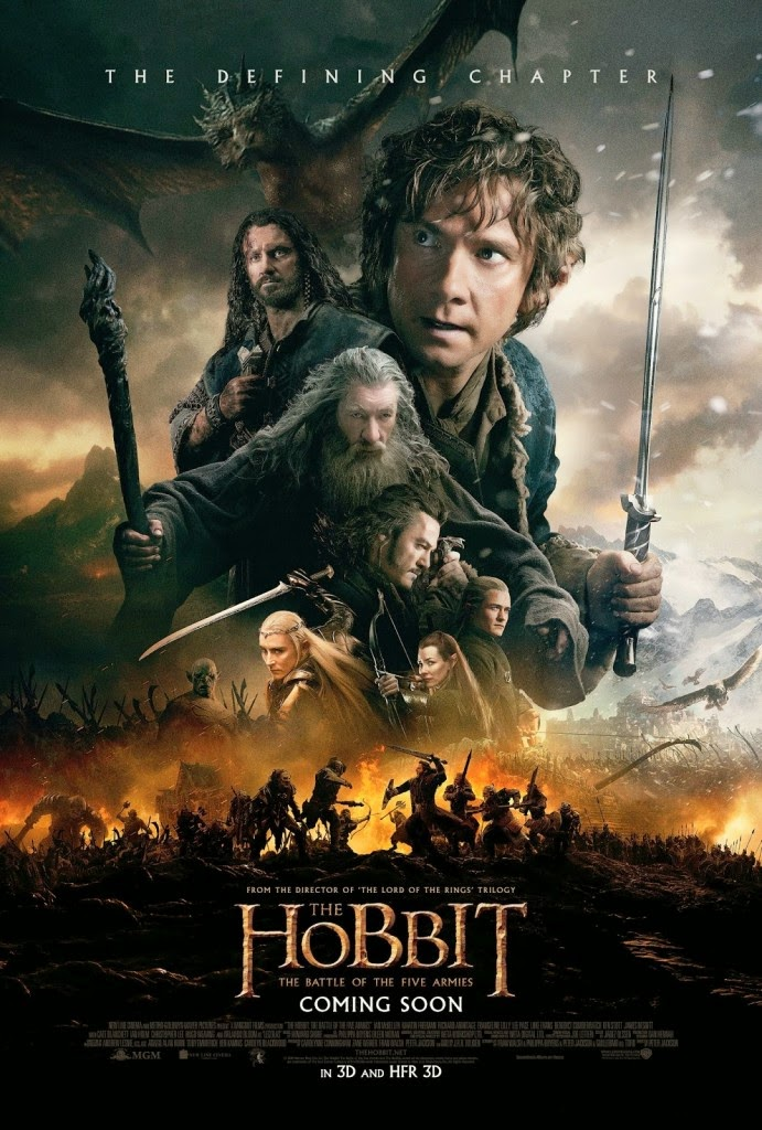 The Hobbit: Battle of the Five Armies - Movie Poster