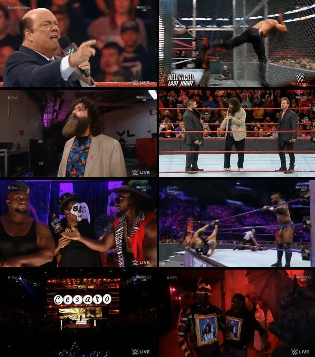 WWE Monday Night Raw 31 Oct 2016 HDTV 480p