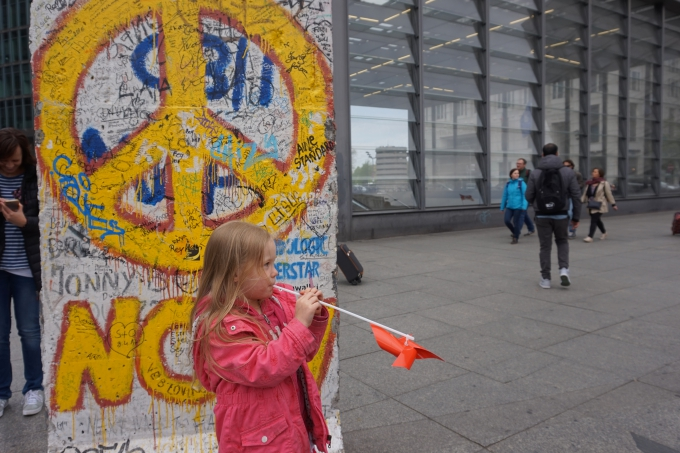 Berliinin muuri Potsdamer Platsz