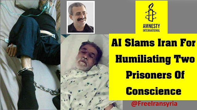 AI Slams Iran For Humiliating Two Prisoners Of Conscience