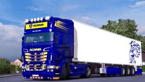 Blue & Yellow pack for Scania RJL