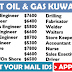 URGENT RECRUITMENT FOR AN OIL & GAS COMPANY IN KUWAIT