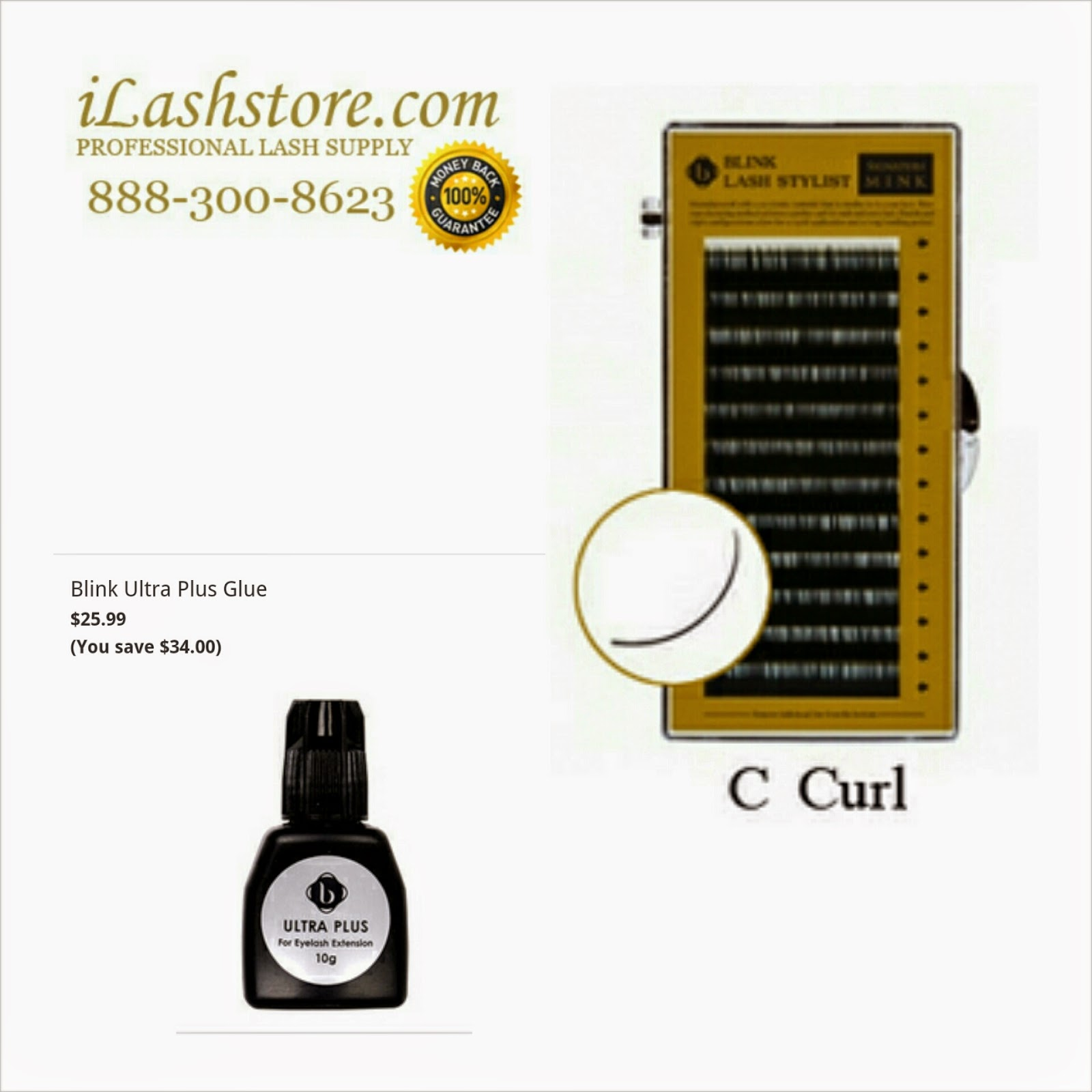 8bd92d9809a It can be purchased from its direct site iLashstore.com or from Amazon.com.  We purchase the faux mink C-curl lash extensions ...