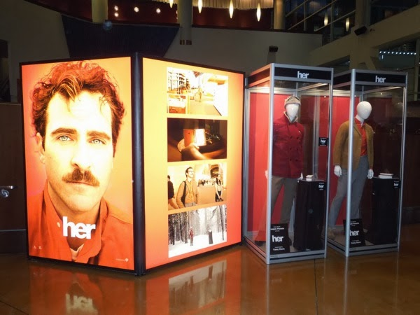 Her movie costume prop exhibit