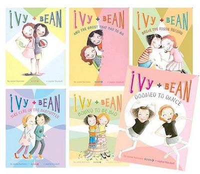 Ivy + Bean book montage