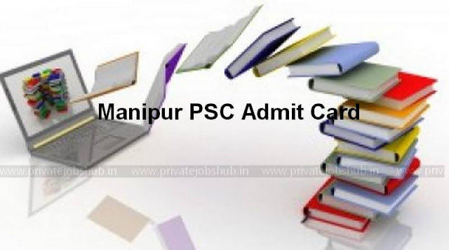 Manipur PSC Admit Card