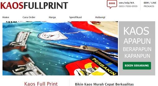 Kaos Full Print