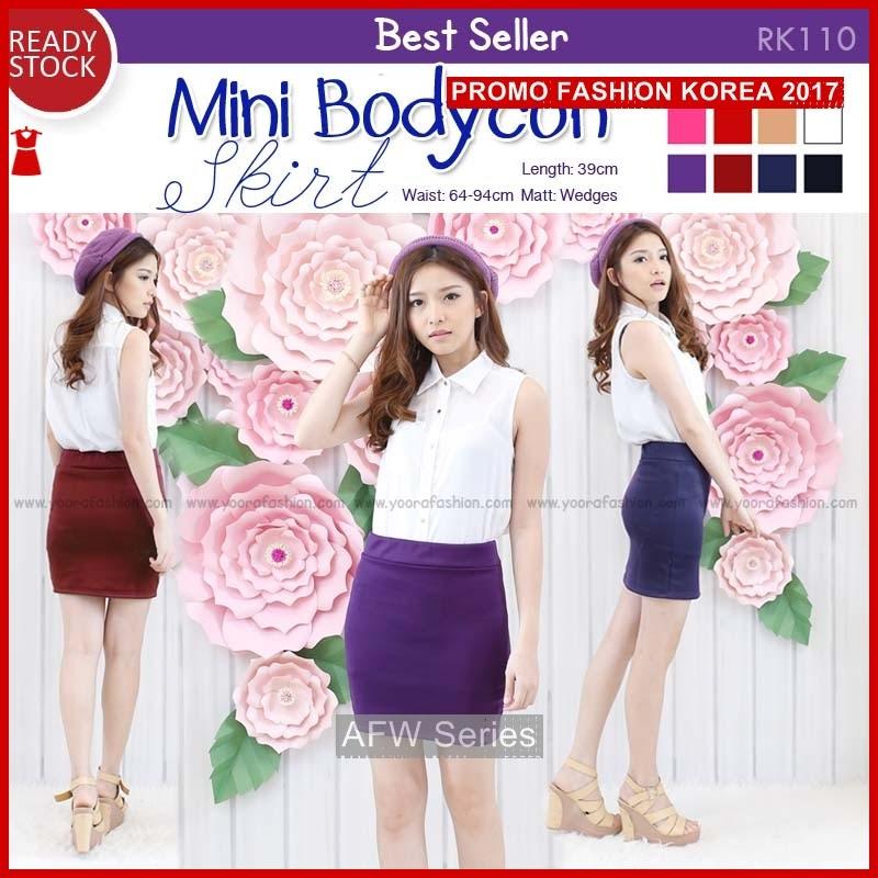 BAMFGW091 Mini Skirt RK110 Wanita PROMO BMG
