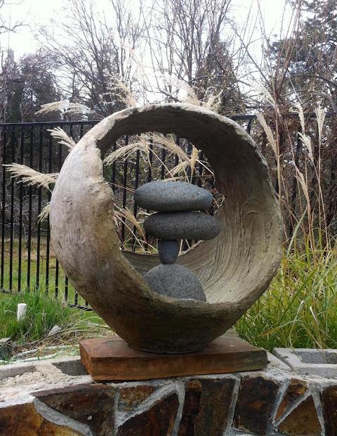 Deborah Bridges Art Workshop - Sculpting With Cement