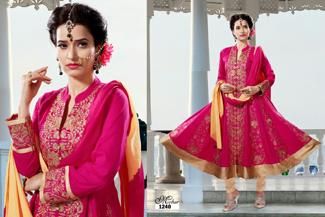 Mehar – Women Look Delicately Beautiful Ready To Wear Suit