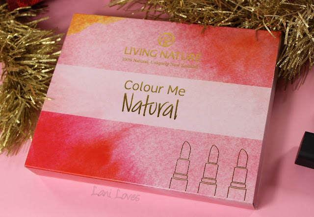Living Nature Colour Me Natural collection review