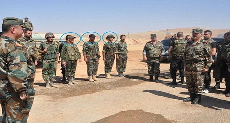 جنود الأسد يستقبلون وزير الدفاع بحلب بشيء لا يمكن تخيله ابدا
