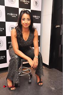 Sanjana Pictures at Mirrors Club Salon Launch ~ Celebs Next
