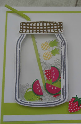 Craftyduckydoodah!, #stampinupuk, Fruit Basket, Stampin' Up! UK Independent  Demonstrator Susan Simpson, Coffee & Cards project April 2018, Supplies available 24/7 from my online store,