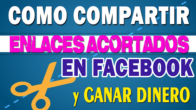 como compartir enlaces acortados en facebook