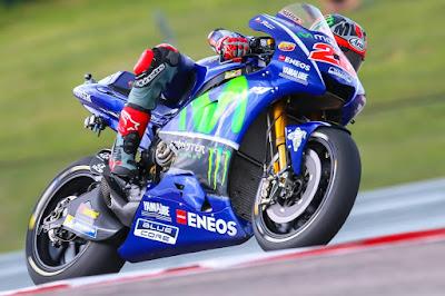 Vinales Gasak Marquez di Latihan Bebas 1 GP Amerika