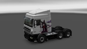 Rory Mercury Skin for DAF XF