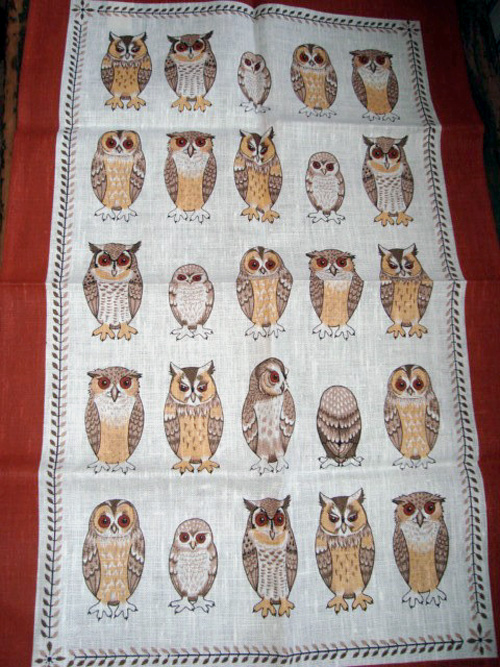 My Owl Barn Vintage Tea Towels