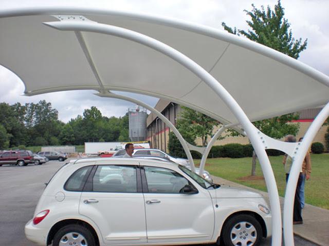 tenda parkir awning