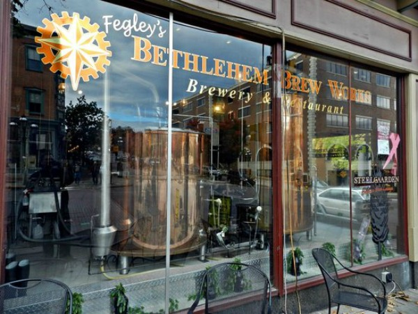 Bethlehem Brew Works Restaurant in Bethlehem PA featured on Walking on Sunshine Recipes.