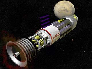 Ilmuwan Melakukan Simulasi Hidup di Mars, roket orion