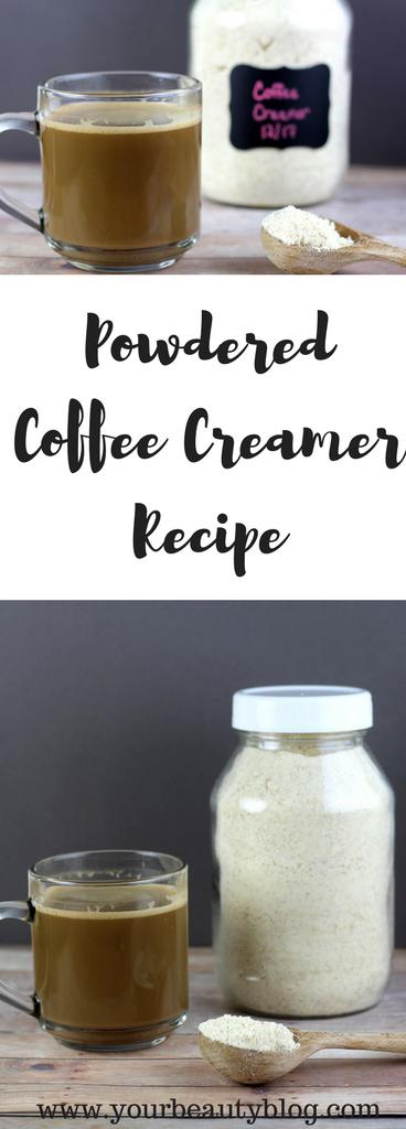 Homemade Powdered Creamer Recipe + 8 Flavored Creamer Recipes