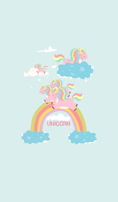 Unicorn and Blue Sky