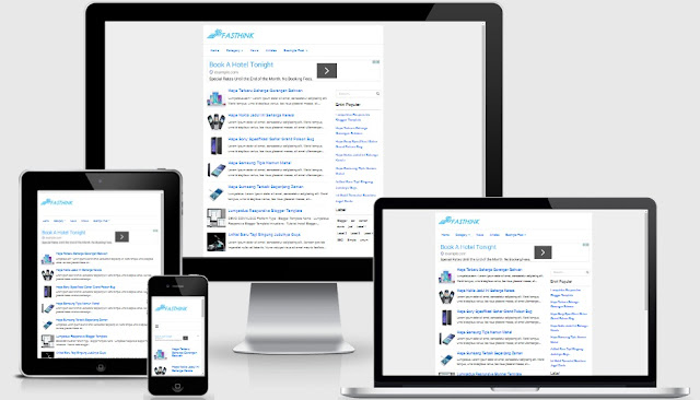 Fasthink2 Responsive Blogger Template