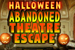 KnfGame Halloween Abandoned Theatre Escape Walkthrough