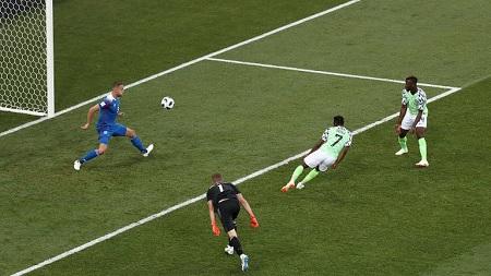 Nigeria vs Iceland Goals