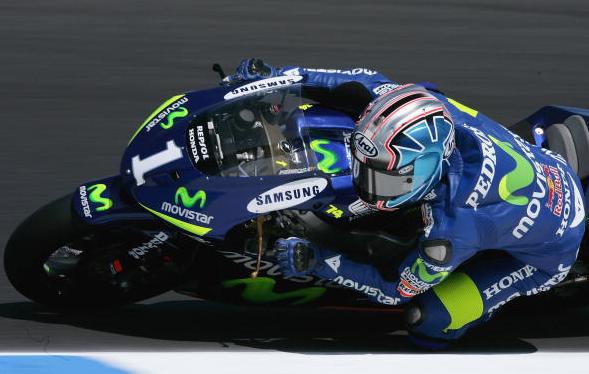 ダニエル・ペドロサ 250ccチャンピオン