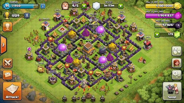 Base Coc Th 8 Defense Terbaik 7