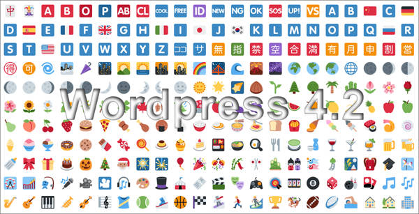 Emoji Everywhere! Pada Update v4.2 Wordpress
