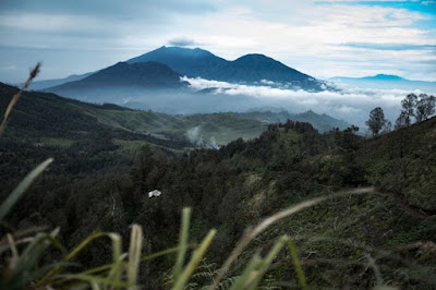 Meranti mountain is in side of ijen mountain