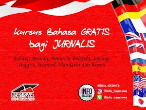 Beasiswa untuk Jurnalis: Kursus Bahasa Asing GRATIS