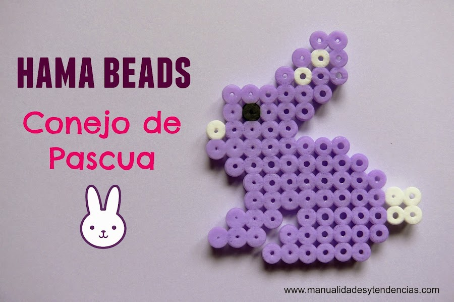 Conejo de Pascua de Hama beads