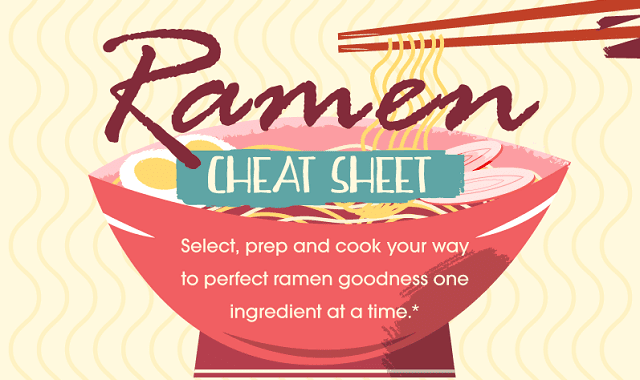 Ramen Cheat Sheet