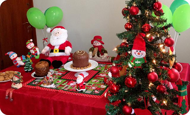 Decoração da Mesa : Festa de Natal - Árvore