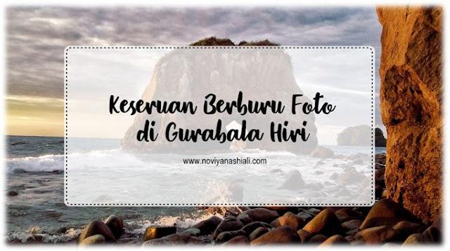 Blogger Malut jalan-jalan ke Hiri; ke pantai Tomajiko; Gurabala Hiri.
