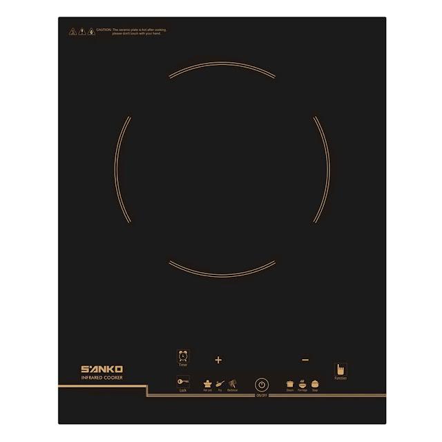 Review, đánh giá bếp hồng ngoại Sanko SI-718S